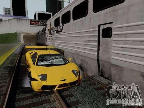 Crazy Trains MOD для GTA San Andreas шестой скриншот