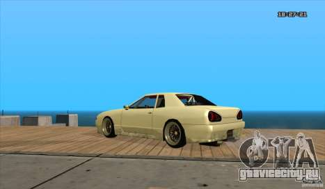 Elegy Drift Style для GTA San Andreas вид слева