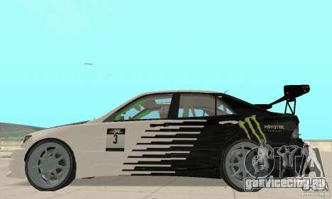 Lexus IS300 Drift Style для GTA San Andreas вид справа
