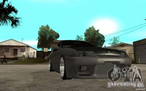 Nissan Skyline R32 - EMzone Edition для GTA San Andreas вид сзади