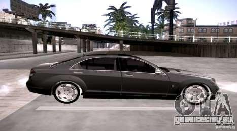 Mercedes-Benz S600 v12 для GTA San Andreas вид слева