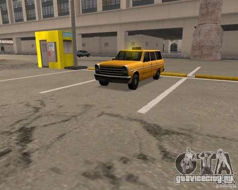 Perennial Cab для GTA San Andreas вид слева