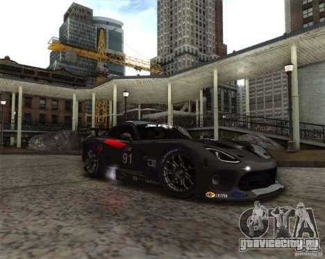 SRT Viper GTS-R V1.0 для GTA San Andreas вид сзади слева