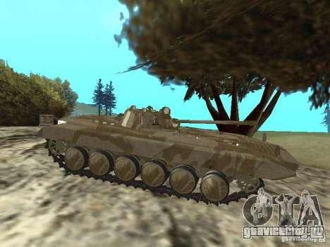 БМП-2 из CGS для GTA San Andreas вид сзади слева
