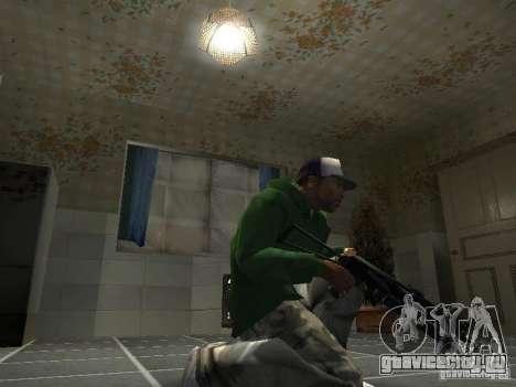 Пак Отечественного Оружия V2 для GTA San Andreas