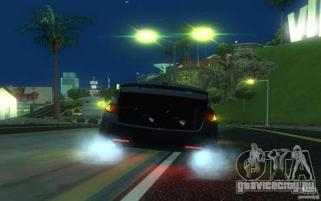 Honda Accord для GTA San Andreas вид снизу