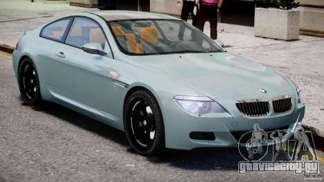 BMW M6 G-Power Hurricane для GTA 4 вид изнутри
