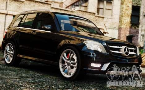 Mercedes-Benz GLK 320 CDI для GTA 4