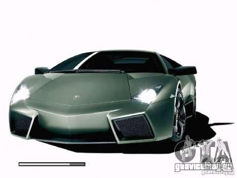 Загрузочный экран Мир Машин для GTA San Andreas