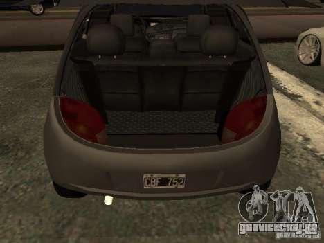 Ford Ka 1998 для GTA San Andreas вид сзади