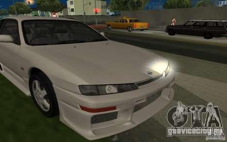 Nissan 200SX для GTA San Andreas вид снизу