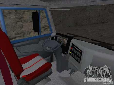 КАМАЗ 65222 для GTA San Andreas вид сзади