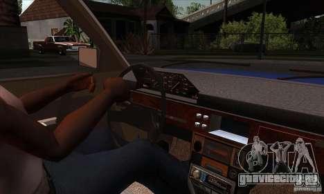 АЗЛК 2141 People Edition для GTA San Andreas вид изнутри