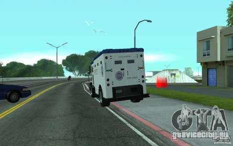 Securicar из GTA IV для GTA San Andreas вид слева