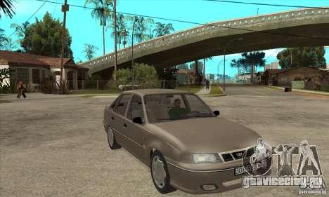 Daewoo Nexia Dohc 2009 для GTA San Andreas вид сзади