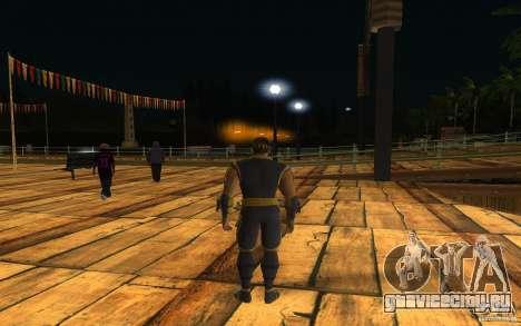 Cyrax из Mortal kombat 9 для GTA San Andreas второй скриншот