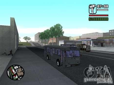FBW Hess 91U для GTA San Andreas вид сзади слева