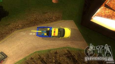 Toyota Avanza Towtruck для GTA San Andreas вид справа