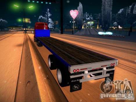 Trailer Artict2 для GTA San Andreas вид слева