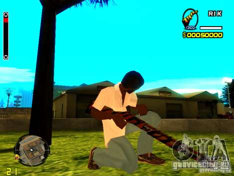 Tiger wepon pack для GTA San Andreas второй скриншот