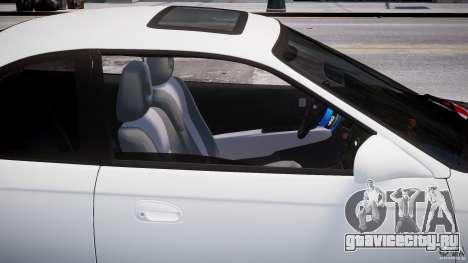Honda Civic Si 1999 JDM [EPM] для GTA 4 вид снизу