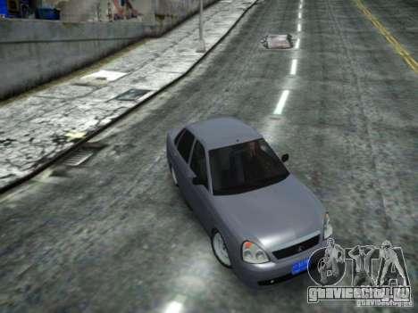 ВАЗ 2170 DUBAI для GTA 4 вид сзади слева