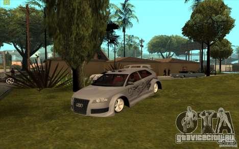 Audi A3 для GTA San Andreas