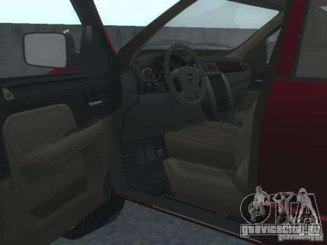 Dodge Ram 1500 v2 для GTA San Andreas вид сзади