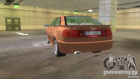 Audi S2 для GTA Vice City вид слева