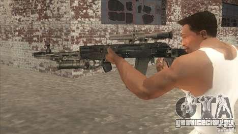 АК-47 v2 для GTA San Andreas второй скриншот