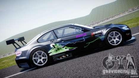 BMW M3 GT2 Drift Style для GTA 4 вид слева