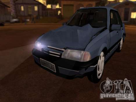 Chevrolet Monza GLS 1996 для GTA San Andreas вид изнутри