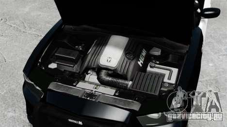 Dodge Charger 2013 Police Code 3 RX2700 v1.1 ELS для GTA 4 вид изнутри