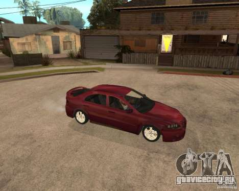 Mazda 6 Sport для GTA San Andreas вид сзади