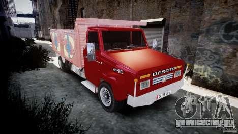Desoto Ad250 для GTA 4 вид сзади