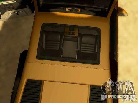Pontiac Fiero V8 для GTA San Andreas вид сбоку