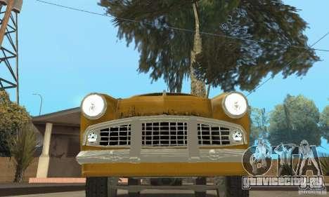 Москвич 407 1958 для GTA San Andreas колёса