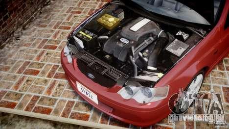 Ford Falcon XR-8 для GTA 4 вид изнутри
