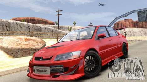 Mitsubishi Lancer Evolution VIII MR для GTA 4