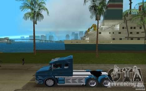 Scania T164 для GTA Vice City вид слева
