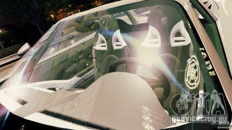 Porsche Carrera GT для GTA 4 вид снизу