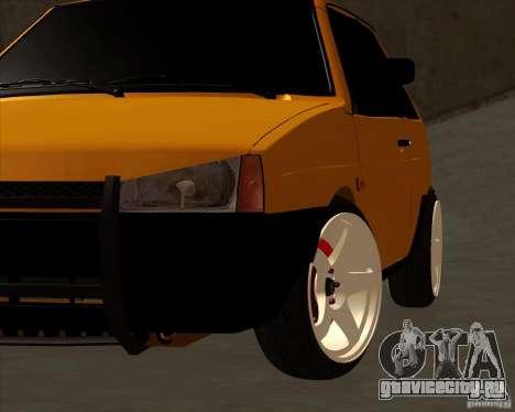 ВАЗ 2108 (версия с белыми дисками) для GTA San Andreas вид справа