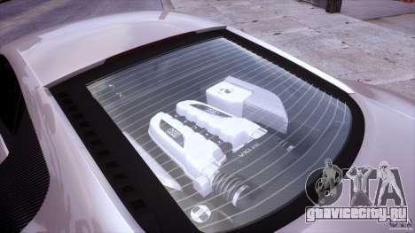 Audi R8 V10 для GTA 4 вид сбоку