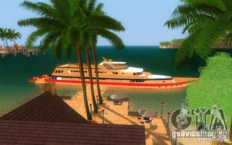 Яхта Кортеза из Vice City для GTA San Andreas