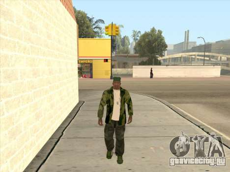 Камуфляжная куртка для GTA San Andreas