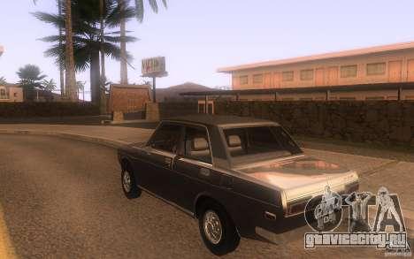 Datsun 510 4doors для GTA San Andreas вид сзади слева