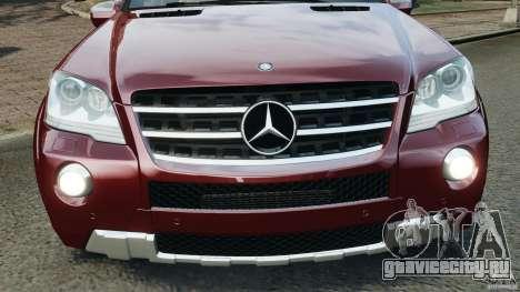 Mercedes-Benz ML63 (AMG) 2009 для GTA 4