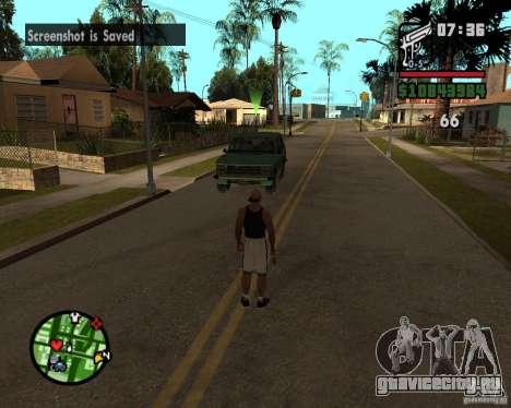 Подмога братков для GTA San Andreas второй скриншот