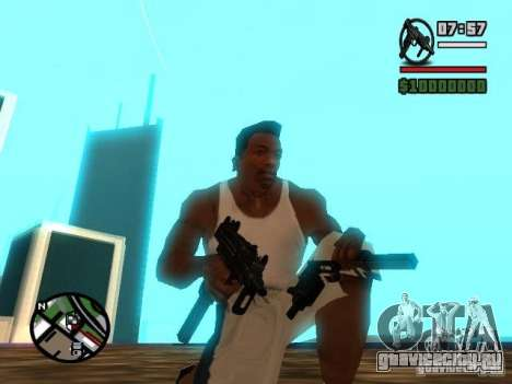 Gangster Weapon Pack для GTA San Andreas третий скриншот