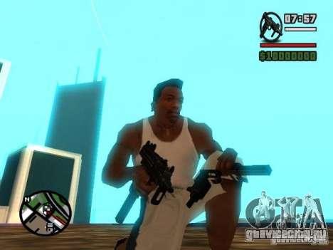 Gangster Weapon Pack для GTA San Andreas третий скриншот